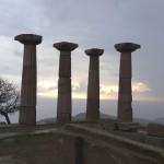 Ruínas do Templo de Athena, em Assos