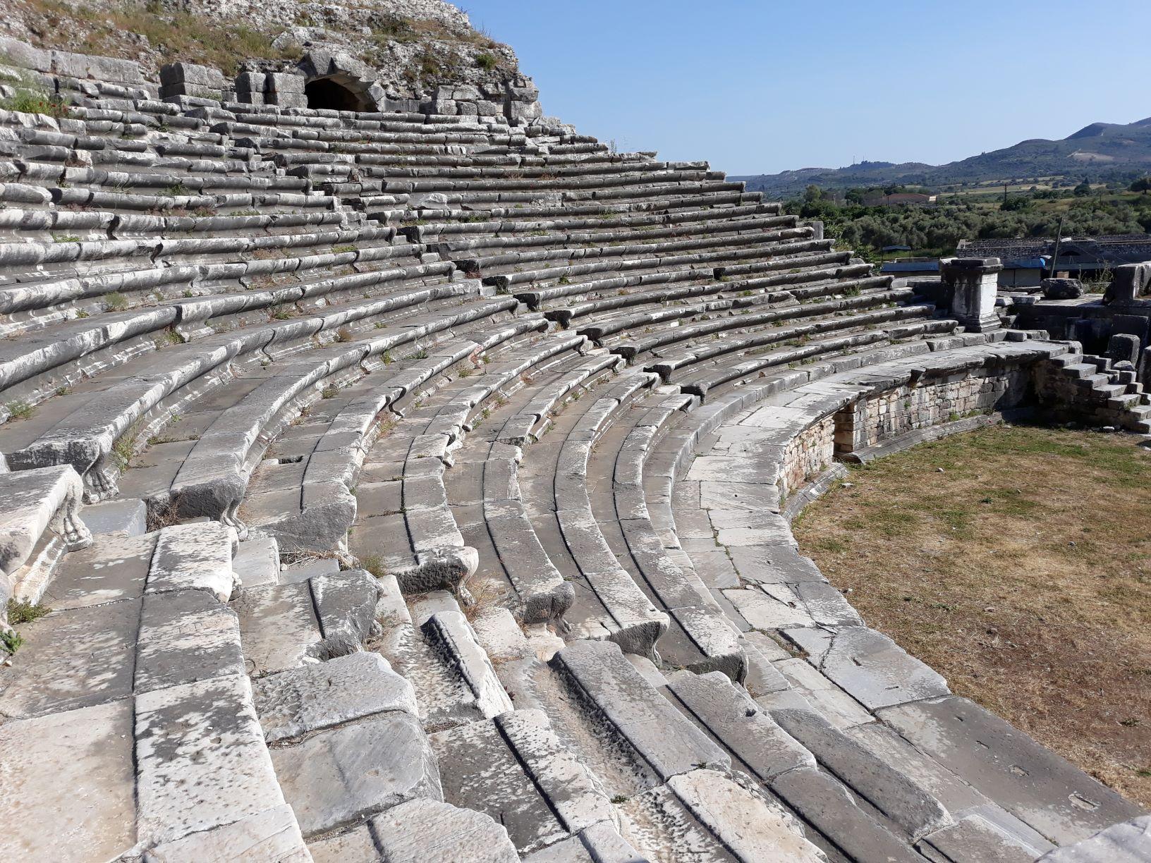 Teatro romano em Mileto