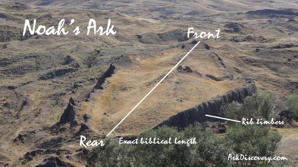 Evidências de que a Arca de Noé parou no Monte Ararate
